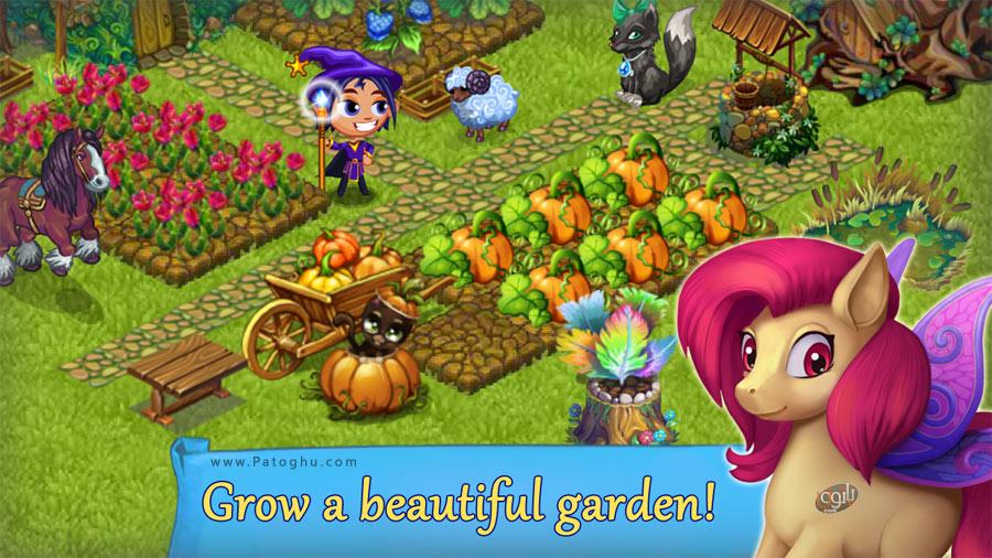 مزرعه بازی بدون اینترنت دانلود بازی مزرعه داری پری برای اندروید Fairy Farm v3.0.0 ...