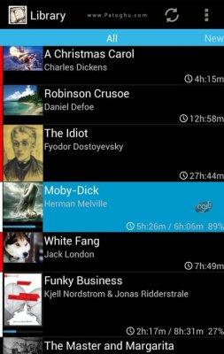 پخش کتاب های صوتی در اندروید Smart AudioBook Player 3.5.5