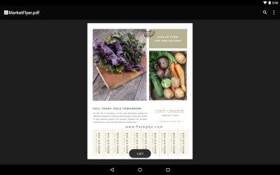 نرم افزار پی دی اف خوان گوگل برای اندروید Google PDF Viewer v2.2.474.25.40