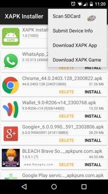 دانلود نرم افزار نصب فرمت XAPK در اندروید XAPK Installer 1.2