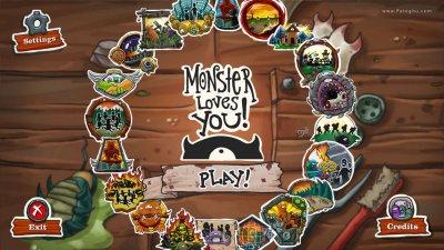 دانلود بازی کم حجم هیولا شما را دوست دارد برای کامپیوتر Monster Loves You