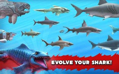 دانلود بازی اکشن کوسه گرسنه برای اندروید Hungry Shark Evolution v5.4.2