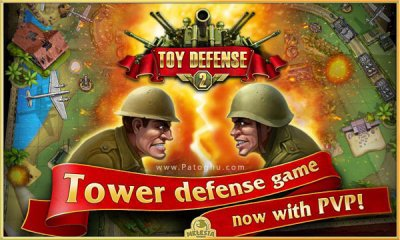 دانلود بازی دفاع اسباب بازی ها 2 برای اندروید Toy Defense 2 v2.12