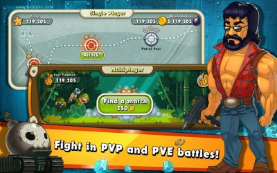 بازی جنگل هیت برای اندروید Jungle Heat Weapon of Revenge 2.0.6