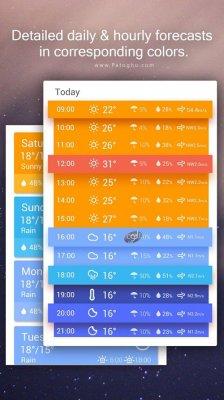 برنامه پیش بینی دقیق آب و هوا برای اندروید Amber Weather Premium 4.3.2