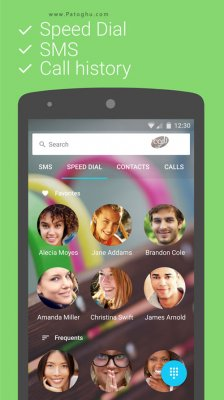 تماس و شماره گیری برای اندروید Contacts + v5.57.5 (Plus) Pro