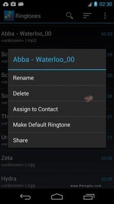 نرم افزار ساخت رینگتون و زنگ هشدار برای اندروید ZeoRing Ringtone (Ad-Free) v1.4