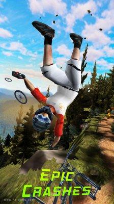 بازی بایک داش دوچرخه سواری کوهستانی در اندروید Bike Dash v3.0