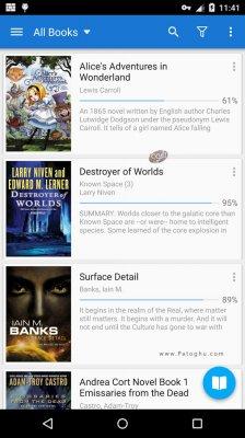 دانلود نرم افزار نمایش کتاب های الکترونیکی در اندروید Moon+ Reader Pro v4.3.1.431001