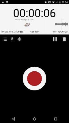 نرم افزار ضبط صدا برای اندروید Sound & Voice Recorder v58