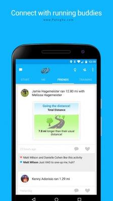 نرم افزار ورزشی و تناسب اندام برای اندروید RunKeeper GPS Track Run Walk Elite v8.1
