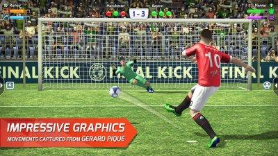 دانلود بازی فاینال کیک ضربات پنالتی برای اندروید Final kick v7.1.4