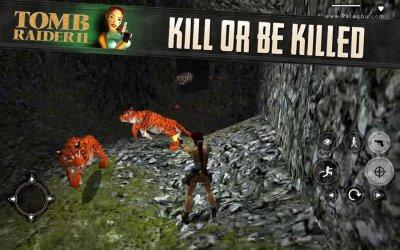 دانلود بازی اکشن تام رایدر 2 برای اندروید Tomb Raider II v1.0.36RC