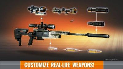 بازی بسیار مهیج تک تیرانداز سه بعدی برای اندروید Sniper 3D Assassin v2.8.2