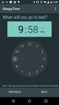 محاسبه زمان خواب و بیداری شما SleepyTime Bedtime Calculator PLUS 2.4.3
