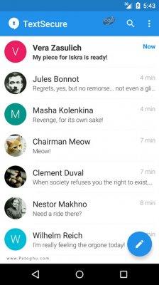 دانلود سیگنال مسنجر امن و سریع برای اندروید Signal Private Messenger 3.7.2