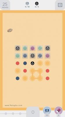 بازی فکری و اعتیاد آور دو نقطه برای اندروید Two Dots 3.19.2