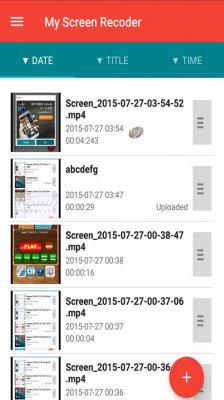 نرم افزار فیلم برداری از صفحه نمایش برای اندروید Rec. (Screen Recorder) Pro 1.8.3