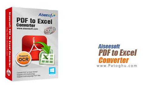 نرم افزار Aiseesoft PDF to Excel Converter