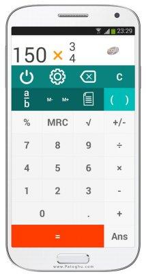 دانلود ماشین حساب فوق حرفه ای و قدرتمند اندروید King Calculator Premium 2.1.8