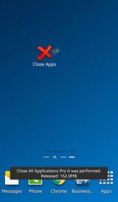 بستن نرم افزار های در حال اجرا در اندروید با یک کلیک Close All Apps PRO v1.1.21 Final