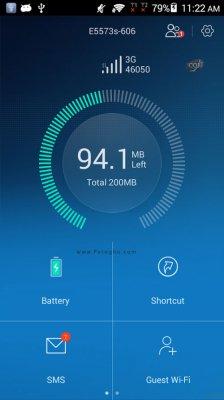 مدیریت آسان گوشی های هواوی در اندروید Huawei HiLink (Mobile WiFi) 3.14.1