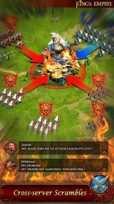 بازی کینگ امپایر امپراتوری پادشاهان برای اندروید King's Empire 2.1.0