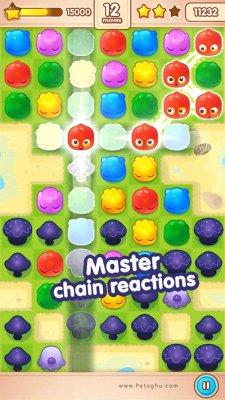 دانلود بازی پازلی ژله های رنگارنگ برای اندروید Jelly Splash 3.22.0