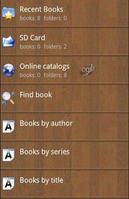 نرم افزار اجرای انواع کتاب ها برای اندروید Cool Reader v3.1.2.104