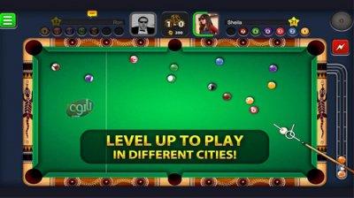 بازی بیلیارد برای اندروید 8ball pool v3.4.0