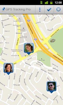 نرم افزار ردیابی افراد در اندروید توسط جی پی اس  GPS Tracking Pro v10.5.0