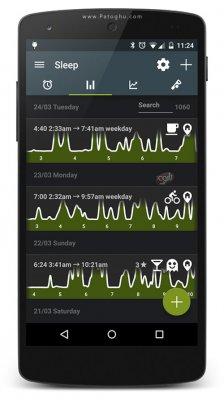 نرم افزار مدیریت خواب و خواب آرام برای اندروید Sleep as Android Full v20170926 build 1646 + Addons