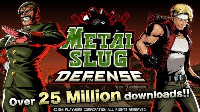 دانلود بازی اکشن و خاطره انگیر متال اسلوگ برای اندروید METAL SLUG ATTACK 2.20.1