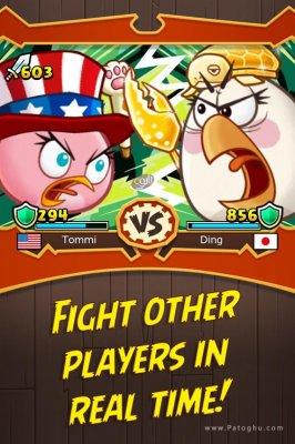 بازی مبارزات انگری بیردز برای اندروید Angry Birds Fight 2.5.1
