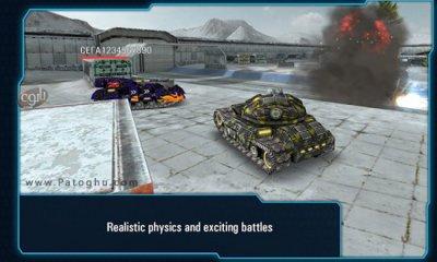 بازی مهیج تانک های آهنی برای اندروید Iron Tanks Online Battle 2.53