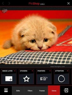 ویرایش عکس در اندروید PicShop - Photo Editor v3.0.3