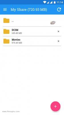 نرم افزار شیر آن وای فای ارسال سریع فایل ها در اندروید ShareOnWifi 3.0.1
