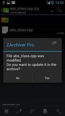 دانلود زد آرشیور باز کردن فایل های زیپ و rar در اندروید ZArchiver Pro v0.8.5