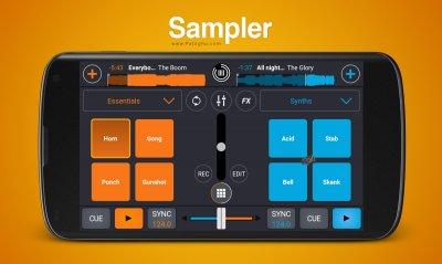 Cross DJ Pro v3.2.4 نرم افزار دی جی و میکس موزیک برای اندروید