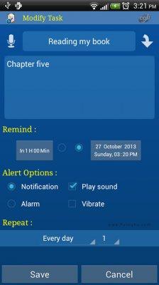 نرم افزار ساعت زنگدار حرفه ای و یادآوری کارهای روزانه برای اندروید Alarm Plus Millenium v3.8.87