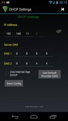 تبدیل گوشی به مودم وای فای برای اندروید WiFi Tether Router v6.1.5 build 183 Paid
