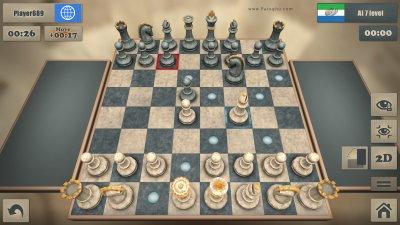 بازی شطرنج سه بعدی برای اندروید Real Chess v2.71