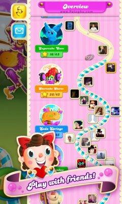 بازی کندی کراش سودا برای اندروید Candy Crush Soda Saga 1.95.6