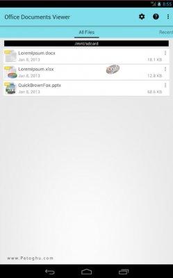 مشاهده اسناد آفیس در اندروید Office Documents Viewer (Full) v1.24.7