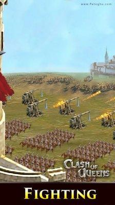 بازی استراتژیک کلش آف کویینز برای اندروید Clash of Queens 1.8.61