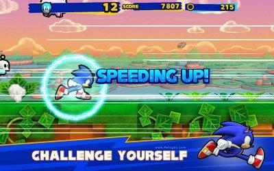 بازی سونیک رانرز برای اندروید Sonic Runners 2.0.3