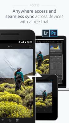 دانلود ادوبی فتوشاپ لایت روم برای اندروید Adobe Photoshop Lightroom 3.1