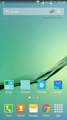 لانچر گلکسی اس 6 برای اندروید SO Launcher (Galaxy S7 launcher) Prime v1.99