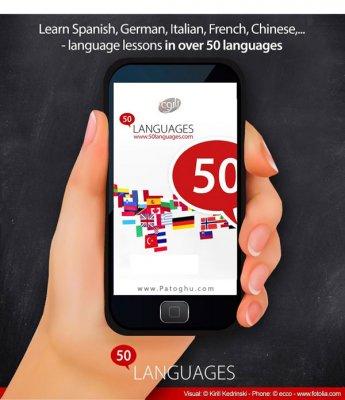 یادگیری 50 زبان مختلف در اندروید Learn 50 Languages Full 10.6