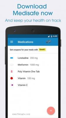 ابزار مفید یادآوری مصرف دارو برای اندروید MediSafe Meds & Pill Reminder v7.51.05227